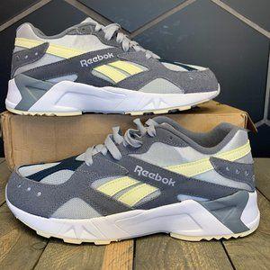 Reebok Aztrek Pastel Grey Running Shoes Size 9.5